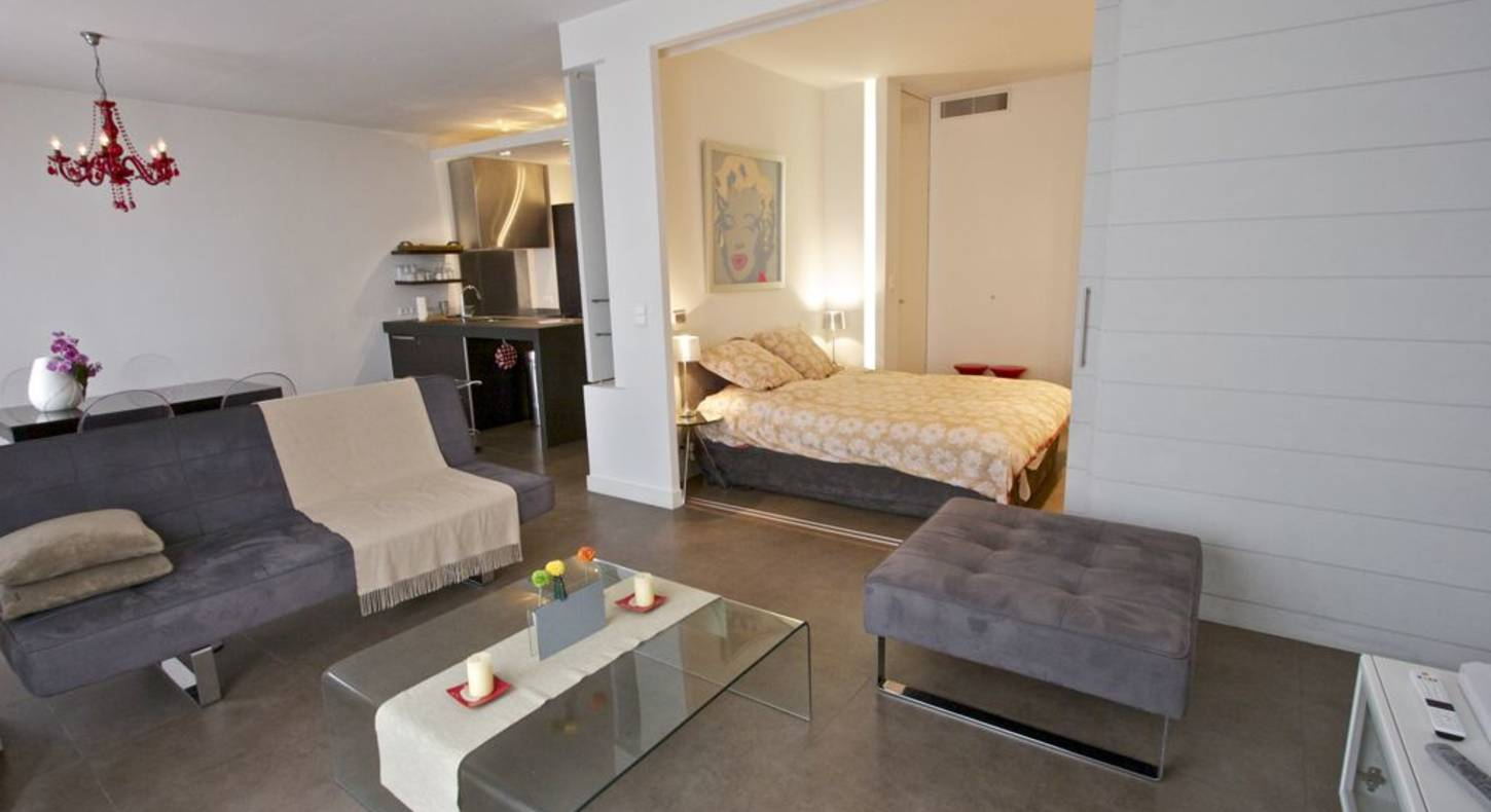 Appartement luxe Cannes 70 m²