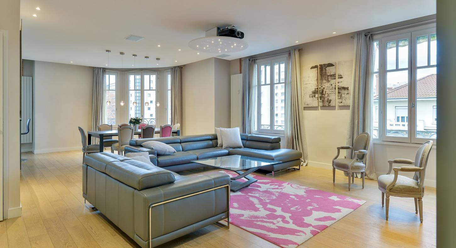 Appartement luxe Lyon 163 m²