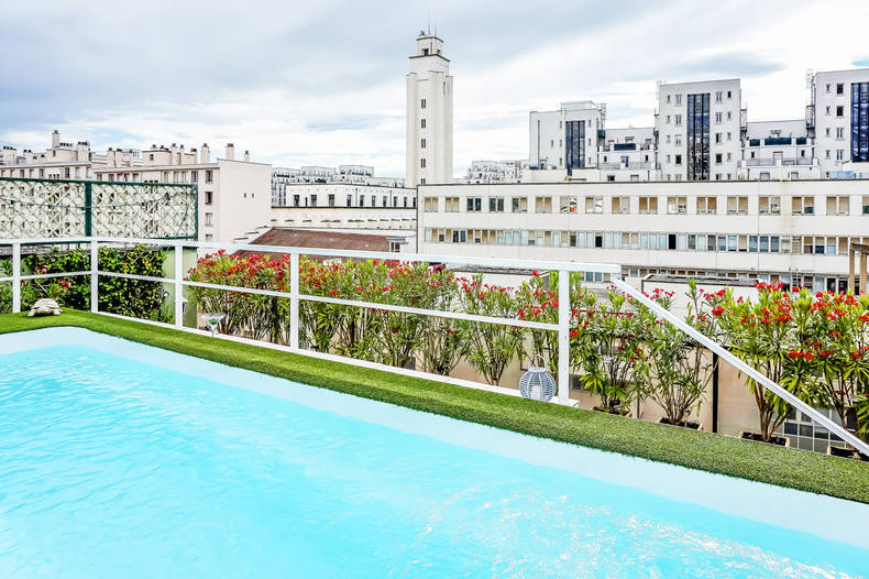 Appartement toit terrasse le must de l 39 achat immobilier for Piscine villeurbanne