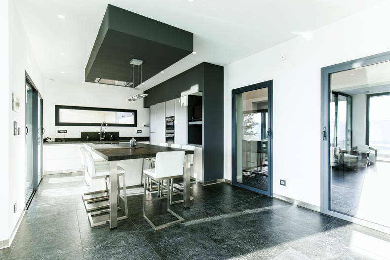 Cuisine design maison contemporaine Vienne